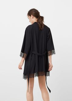 lascana lascana morgenmantel im edler satinoptik grau im heine online shop kaufen soft. Black Bedroom Furniture Sets. Home Design Ideas