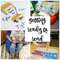 Emergent Literacy Activities for Preschoolers and Kindergartners