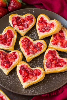 Fruit and Cream Cheese Breakfast Pastries (Just a Taste) | Breakfast ...