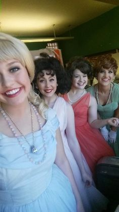 Marvelous Wonderettes - Final Weekend!! A picture of girls as pretty as a picture - the sentence is redundant, but the sentiment is right on. Go get'em, ladies!