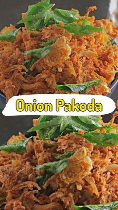 Healthy Indian Recipes, Spicy Recipes, Curry Recipes, Pakora Recipes, Chaat Recipe, Snack Mix Recipes, Vegetarian Snacks, Easy Snacks, Dessert