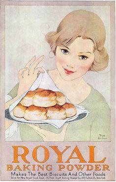 Marjorie Torre Bevans, Royal Baking Powder, 1920