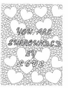 Mothers Day Coloring Pages, Valentines Day Coloring Page, Printable Adult Coloring Pages, Coloring Pages For Girls, Coloring Pages To Print, Swear Word Coloring Book, Coloring Books, Coloring Sheets, Colouring