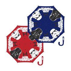Paraguas automatico Star Wars Disney 48cm surtido - http://comprarparaguas.com/baratos/starwars/paraguas-automatico-star-wars-disney-48cm-surtido/