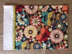 Pillowcases - Handmade - 100% Cotton - Ladybug Garden - Set of 2