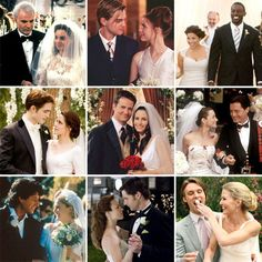 #wedding inspiration from movie  TV #weddings!