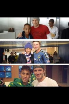 Neymar Jr And David Beckham over the years Keiser-Direct Soccer mypdsmostwanted Soccer Fans, Play Soccer, Football Players, Soccer Stuff, Football Icon, Football Soccer, Neymar Jr, David Beckham Photos, Happy Guy