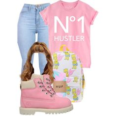 A fashion look from September 2014 featuring Timberland shoes. Browse and shop related looks.
