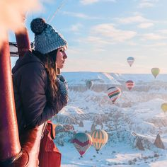 Cappadocia / Cappadocia I share Cappadocia pictures from many holiday regions around the world. Cappadocia Balloon, Capadocia, Balloon Flights, Christmas Travel, Above The Clouds, Turkey Travel, Walking In Nature, Plein Air, Romantic Travel