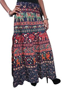 Womans Maxi Skirt Ethnic Printed Cotton India Long Wrap Around Skirts (Print2) Mogul Interior http://www.amazon.com/dp/B00QTC46OO/ref=cm_sw_r_pi_dp_HzbIub0PHQSJV