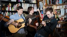 Spoiler alert: The Punch Brothers came to the Tiny Desk on Chris Thile's birthday. We made him a cake and gave him an NPR surprise! This wasn't the first tim...