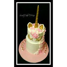 Unicorn cake www.sweetcakeomine.net