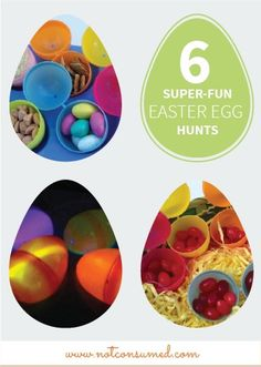 Turn your family's Easter egg hunt into a super-fun game with any of these 6 creative ideas. The kids will love the new and exciting adventure and you'll have so much fun setting it up.