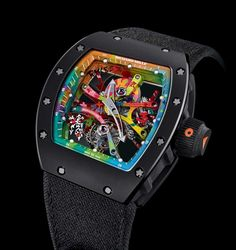 Richard Mille's quest for innovation: hi-tech materials | Time and Watches