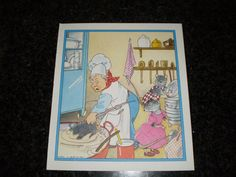 Vintage children's book illustration   mice in door pureplusproducts, $10,00
