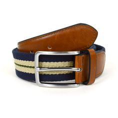"Umo Lorenzo 12pc Men's Navy Braided Belts with Double Stripe. Product Description:  12pc Assorted Pack. S/M/L/XL=1/5/4/2pcs per Pack. S:30"" ~ 32"" (from tip to tip). M:34"" ~ 35"" (from tip to tip). L:38"" ~ 40"" (from tip to tip). XL:42"" ~ 44"" (from tip to tip). Width: 1.25"". Silver-tone hardware. Single-prong buckle. Umo Lorenzo Label. Imported."