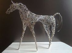 Buy Silver Horse, Sculpture by Linda Hoyle on Artfinder. Discover thousands of other original paintings, prints, sculptures and photography from independent artists.