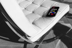 Bauhaus Movement Magazine - Less is More Phone Case