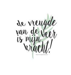 De vreugde van de Heer is mijn kracht! Nehemia 8:10  #God, #Heer, #Kracht, #Vreugde  https://www.dagelijksebroodkruimels.nl/nehemia-8-10/
