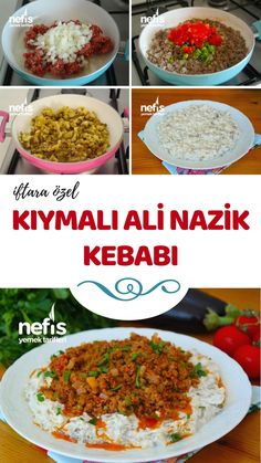 How to make Alinazik Kebab Recipe? Illustrated explanation of Alinazik Kebab Recipe in the book of 4 Bbq Ribs, Pork Ragu, Perfect Baked Potato, Best Macaroni And Cheese, Braised Brisket, Best Peanut Butter Cookies, Buttermilk Fried Chicken, Cozy Meals, Gourmet