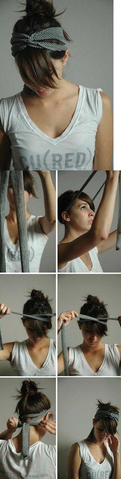15 Cute DIY Headband Tutorials  #headbands #diy #diyheadbands