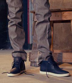 CLAE Strayhorn Midnight Leather