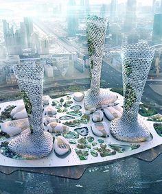 Organic Architecture, Unique Architecture, City Architecture, Futuristic Architecture, Concept Architecture, Floating Architecture, Chinese Architecture, Amazing Buildings, Modern Buildings