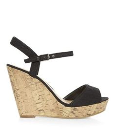 I want these Black Contrast Broderie Peep Toe Wedges Black Wedges Low Wedge Sandals, Low Wedges, Peep Toe Wedges, Black Wedges, Italian Models, Italian Women, Vintage Dresses 50s, Teen Guy Fashion, Shoe Gallery