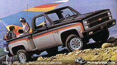 PickupTrucks.com - 1973 to 1998 Chevrolet CK Pickups Grow Collectible Part 1 - 1973 to 1983