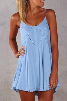 Jean Jail Mint Summer Dress