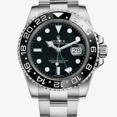 The Rolex GMT-Master II is the watch of choice for airline pilots and serious travellers. Discover more about its features on the Official Rolex Website. Rolex Gmt Master, Rolex Oyster Perpetual, Omega Speedmaster, Rolex Submariner, Luxury Watches, Rolex Watches, Patek Philippe, Cool Watches, Watches For Men