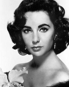Elizabeth Taylor 8x10 Classic Hollywood Photo. 8 x 10 B&W Picture #22
