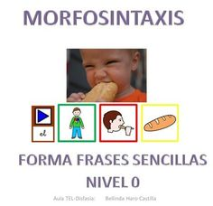 Siembra Estrellas: COMUNICACIÓN Y LENGUAJE: Material para trabajar morfosintaxis Cognitive Activities, Learning Activities, Activities For Kids, Speech Language Pathology, Speech And Language, Oral Motor, Learning Spanish, Speech Therapy, Preschool