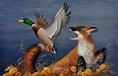 La chasse du renard