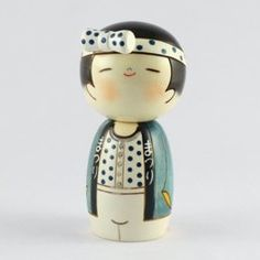 Usaburo Kokeshi Festival Boy Doll (We Love Festivals!-Man)(卯三郎 作)