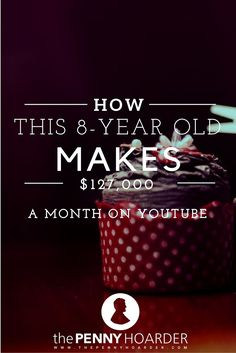 Have you heard about Charli's Crafty Kitchen? It's a YouTube channel featuring cooking and baking tutorials led by an 8-year-old and her 6-year-old sister that's on track to earn $1.5 million this year. We got their best advice for starting your own popular channel. Ready to start making money on YouTube? - The Penny Hoarder http://www.thepennyhoarder.com/charlis-crafty-kitchen/