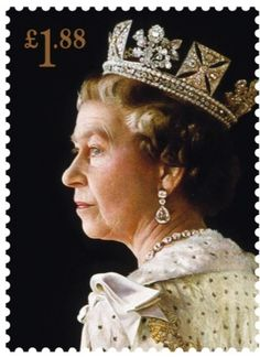 Her Majesty Queen Elizabeth II. - To mark the 60th anniversary of the Queen's Coronation. Painted by1992 Richard Stone.