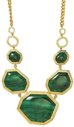 Dark Green Necklace by Isharya. Buy for $398 from Charm & Chain