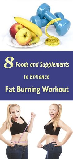 A fat burning workout is beneficial for everyone, regardless if you actually need to burn off some extra fat. This type of training mostly consists of cardio and strength building exercises, which are greatly beneficial for your health as a whole. However, if your main goal is weight loss, you can take 8 foods and supplements in order to enhance the results of your exercise.