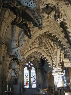 Rosslyn Chapel, Roslin, Scotland