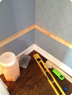 No more wire shelves!! (A pantry redo)