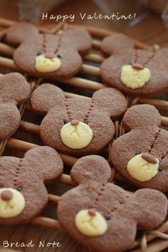 Happy Valentine's Day! ジャッキーのクッキー by tomoさん | レシピ ...