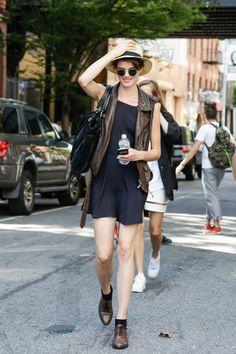 Little Black Dress #offduty #model