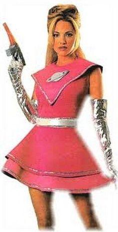 xaw523 Space Girl URSA MAJOR Halloween Rubies Costume 15712