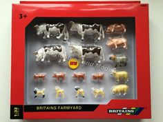 Tomy Britains Big Farm Mixed Animal Value Pack 3 for sale online Bull Cow, Sheep And Lamb, Farm Yard, Lambs, Scale Model, Pigs, Farm Animals, Packing, Accessories