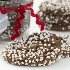Chocolate Gingerbread Cookies – all the chew of your favorite molasses cookie, with surprise bursts of melted chocolate.