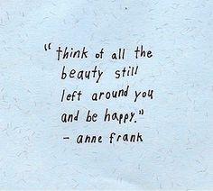 A good way to live life. -H