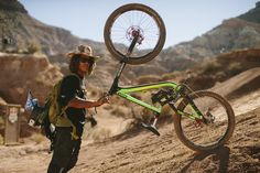 Nic Pescetto at RedBull Rampage 2015 Virgin Utah USA