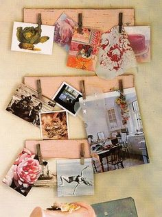 Noticeboards. I have some painted cupboard panels that I could do this w/.