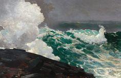 """Northeaster""  --  1895  --  Winslow Homer  --  American  --  Oil on canvas  --  Heilbrunn Timeline of Art History @ The Metropolitan Museum of Art"